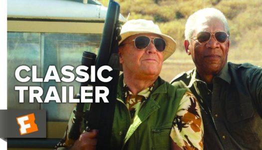 Giganterna Nicholson och Freeman bär filmen (The Bucket List)