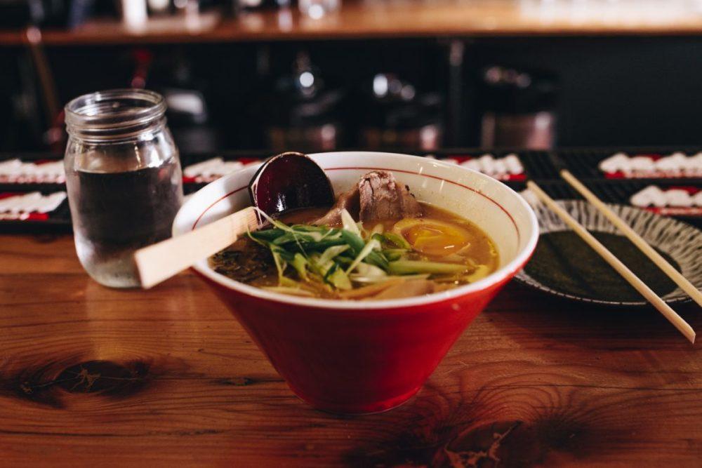vietnamesisk mat pho soppa
