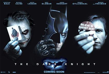 Mörk riddare med oklart budskap (Batman: The Dark Knight)