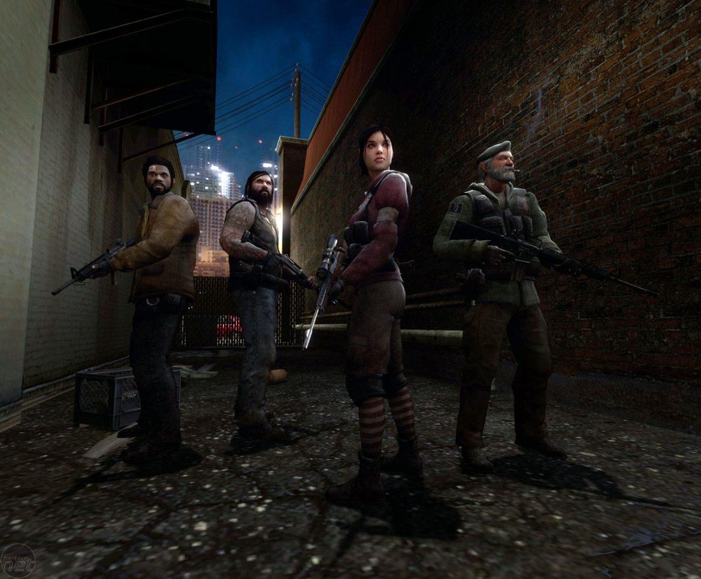 Left4Dead - fantastiska fyran med zombies