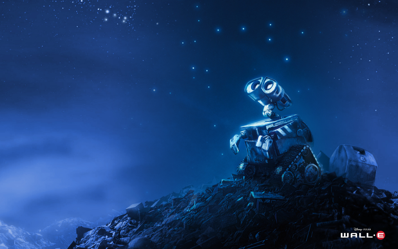 Wall-E is feeling Blu