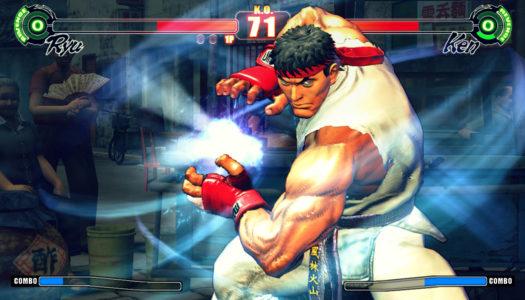 Street Fighter IV – upphottat retro-stryk