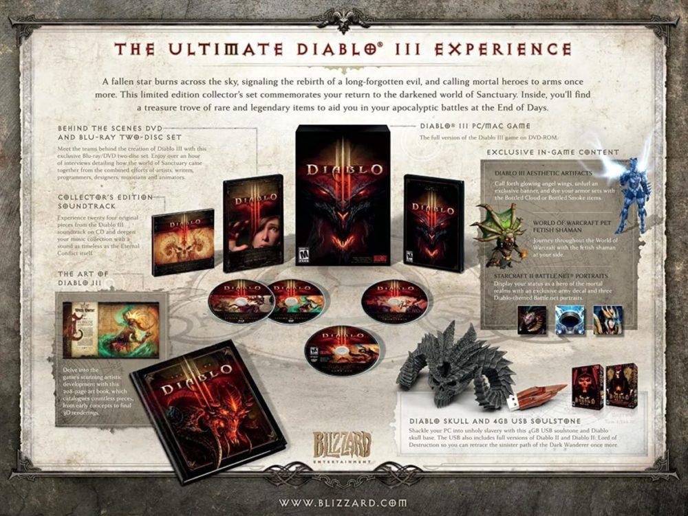 Diablo 3 collector's editon