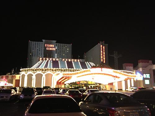 Circus Circus by night