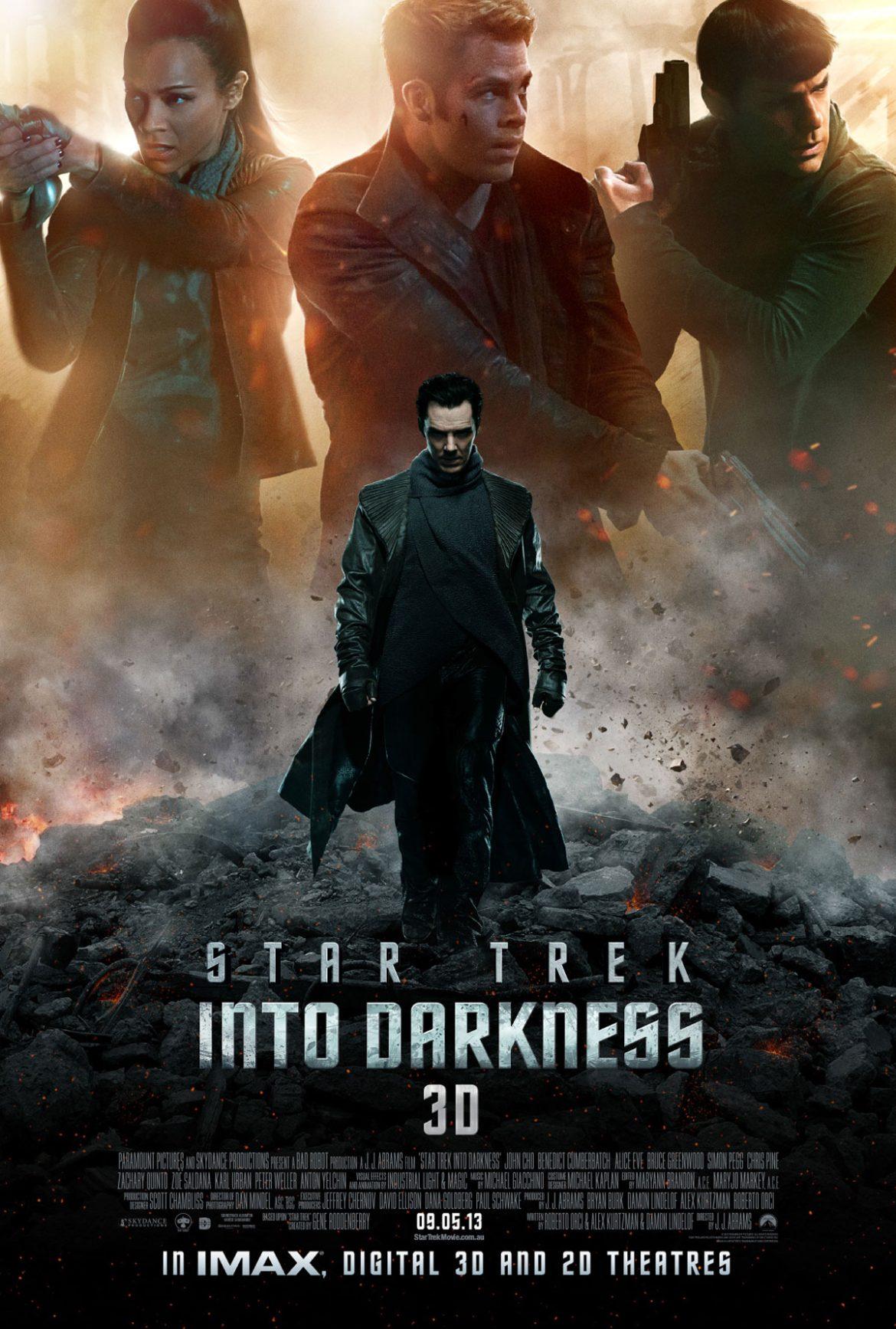 Star Trek 2 - Into Darkness, skurken spelas av Benedict Cumberbatch (BBCs Sherlock Holmes)