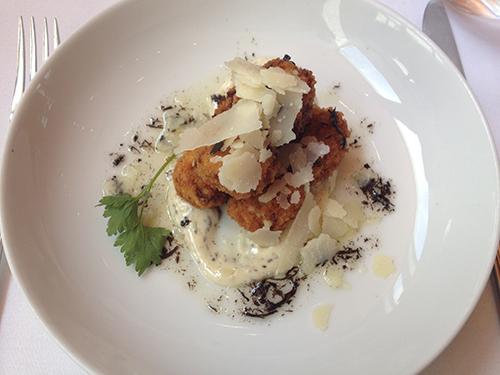 Fig & Olive Truffle Mushroom Croquette