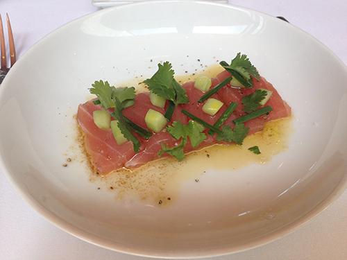 Fig & Olive Tuna Crudo