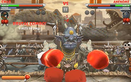 Beast Boxing Turbo är snyggt på OUYA