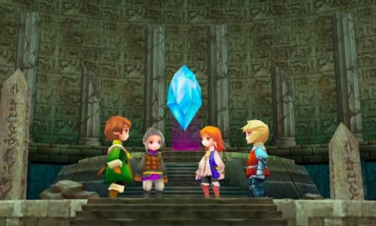 Final Fantasy III på OUYA