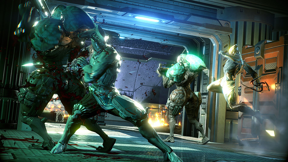 Warframe F2P third person shooter PS4