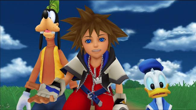 Kingdom Hearts - Sora Donald and Goofy