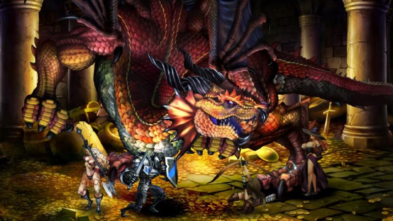 Dragon's Crown - vackert