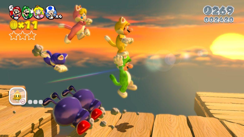 Om du inte får tag på en PS4:a på releasedagen så gör det inget, köp ett Super Mario 3D World istället!