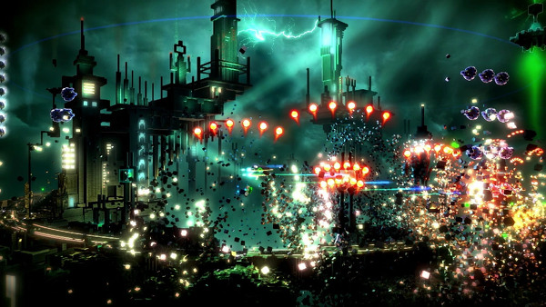 Resogun PS4 60fps