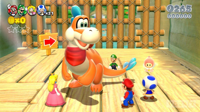 Dinosaurien i 3D World kräver synkade spelare