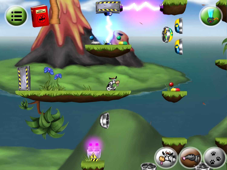 Blendimals in action (iPad HD)