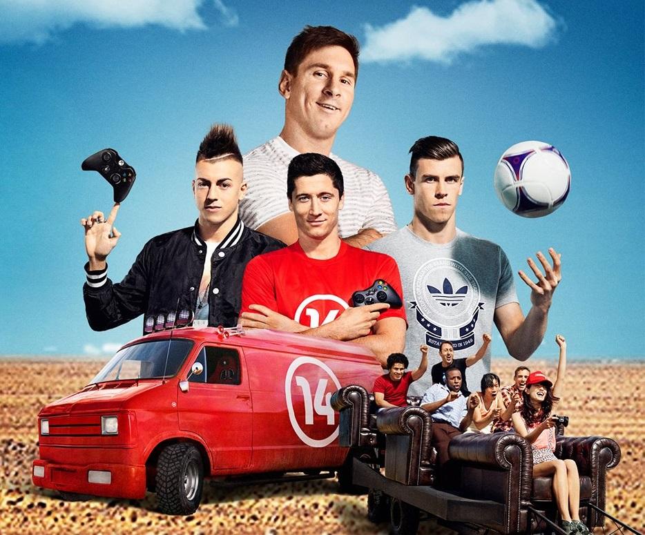 Hur många fotbollsstjärnor kan du namnge på bilden?