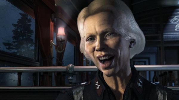 Ansiktsmodellerna i The New Order är lite stela och påminner ibland om Spitting Image-dockorna