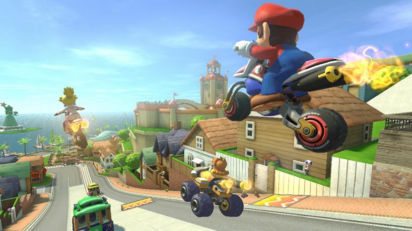 Motorcyklarna är fortfarande våra favoriter i Mario Kart 8