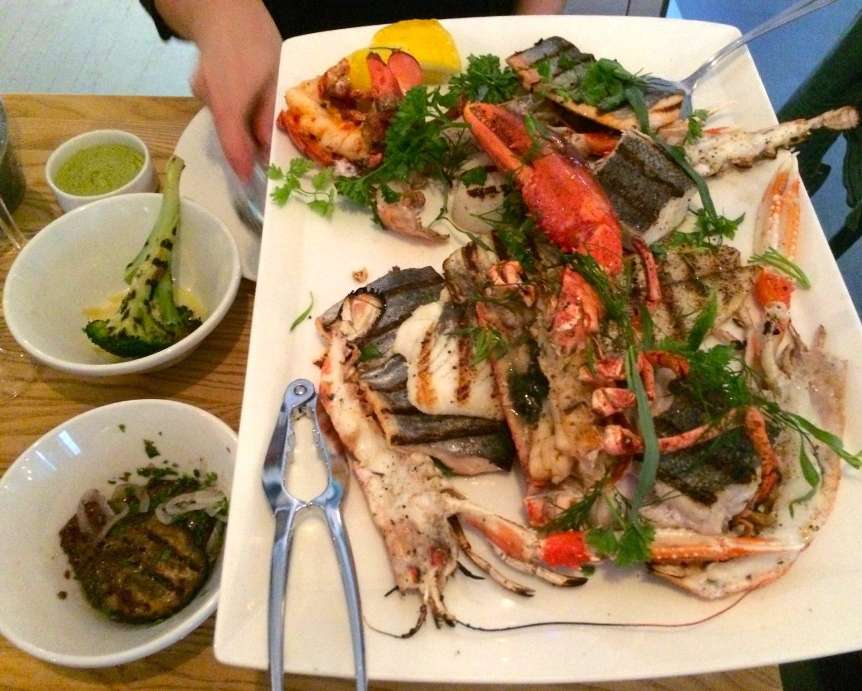 Mixed Grill Fisk och Skaldjur BAR