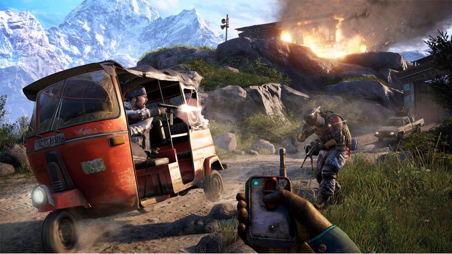 far cry 4 trailer gameplay