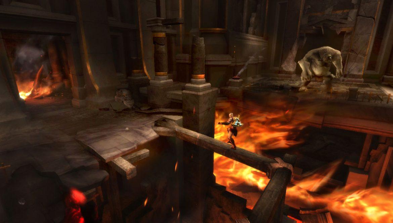 Ghosts of Sparta tog PSP-upplevelsen ännu närmare konsolversionen.
