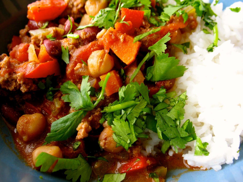 vegetarisk chilligryta