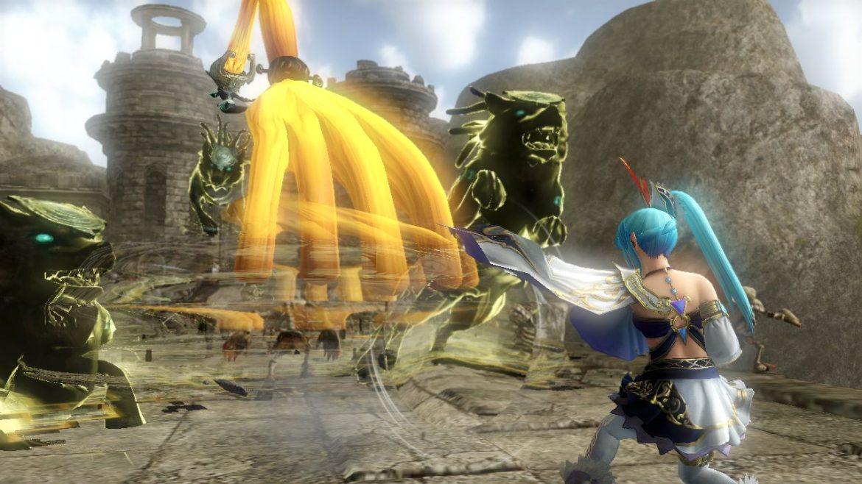 hyrule warriors boss fight