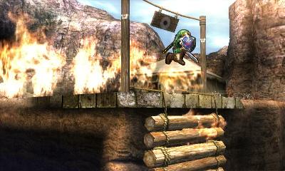 Link Super Smash Bros 3ds