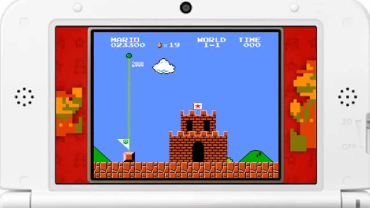 super mario bros nes remix