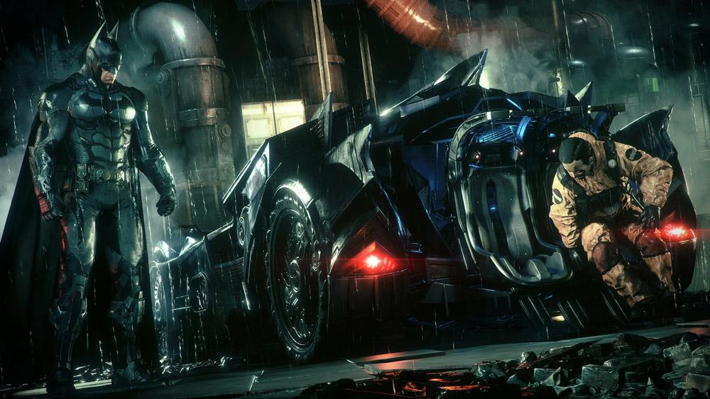 Batmobilen är till en början vrålkul, men överanvänds tyvärr i spelet