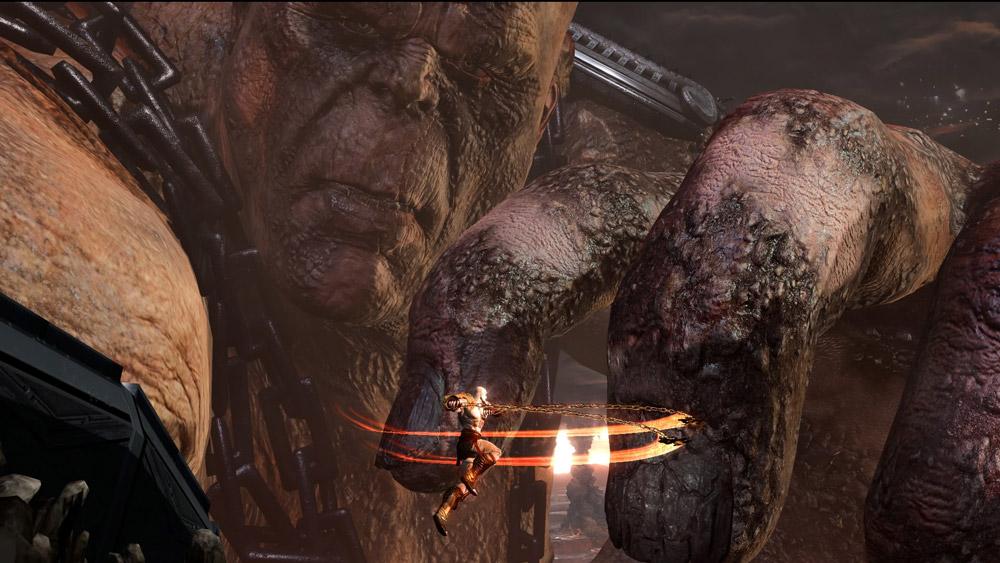 Det bjuds på en hel del feta bosstrider i God of War III