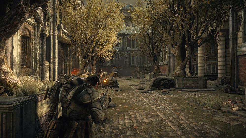 Gears of War är som snyggast i utomhusmiljöerna