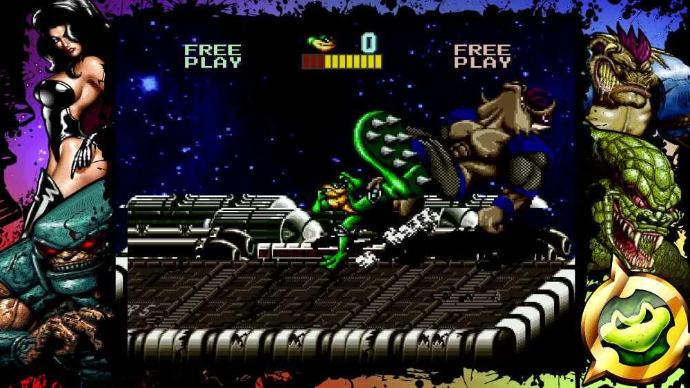 Battletoads Arcade är ett av samlingens bästa spel