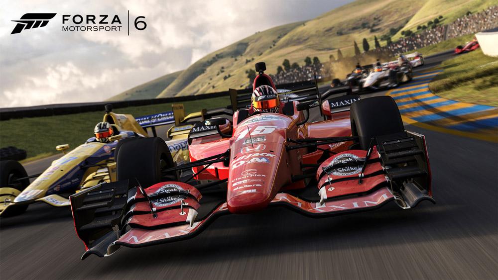 F1-bilarna är galet kul att köra i Forza Motorsport 6.