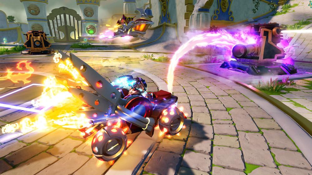 Superchargers är action från början till slut.