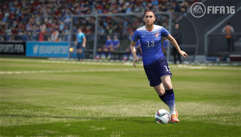 22 damfotbollslag finns med i FIFA 16 och de är riktigt kul att spela med.