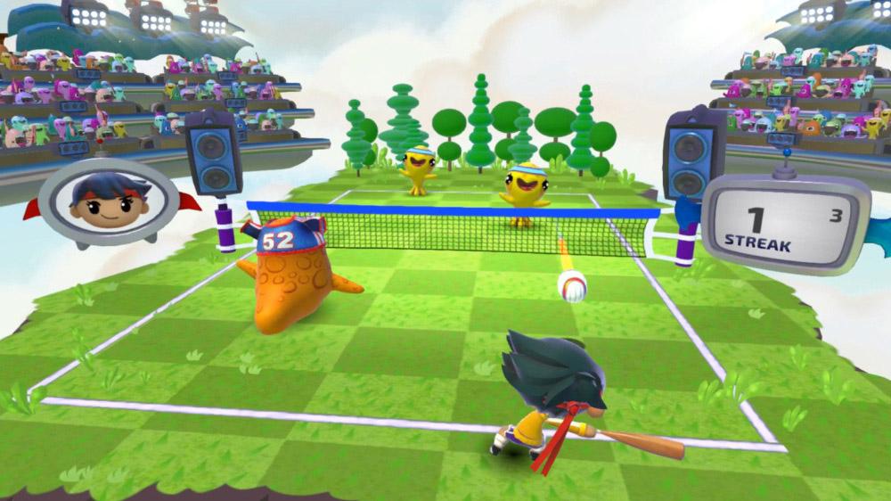 Harmonix sportspel med musikinslag, Beat Sports, är kul och påminner om Wii Sports.