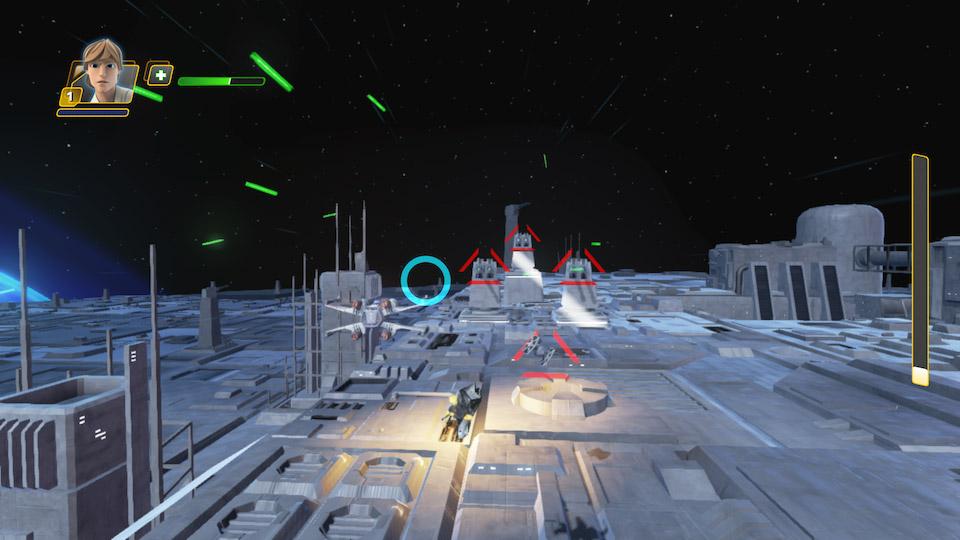 Attacken mot Dödsstjärnan är en av de coolaste inslagen i nya play setet!