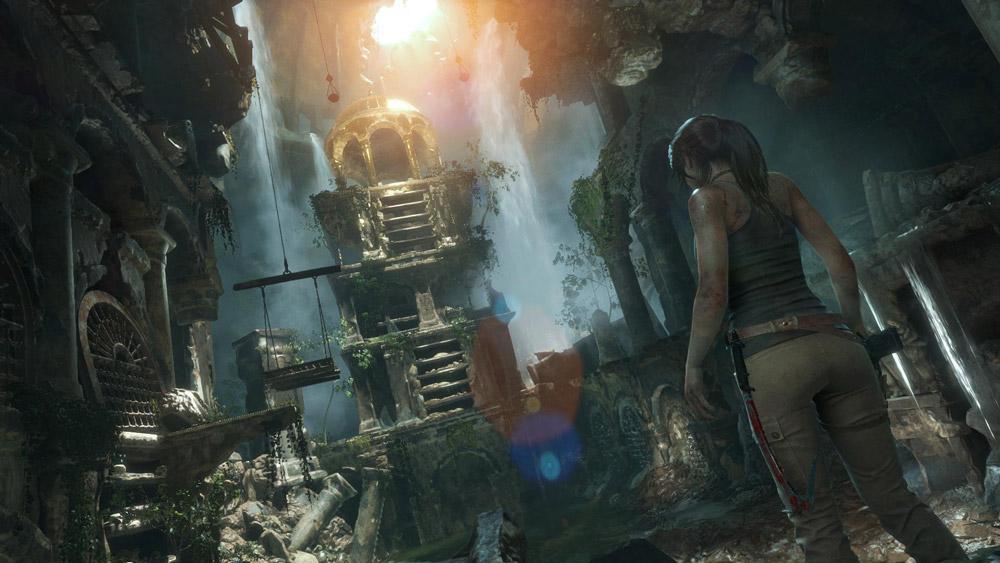 En av många tombs du kommer att kunna utforska under spelets gång.