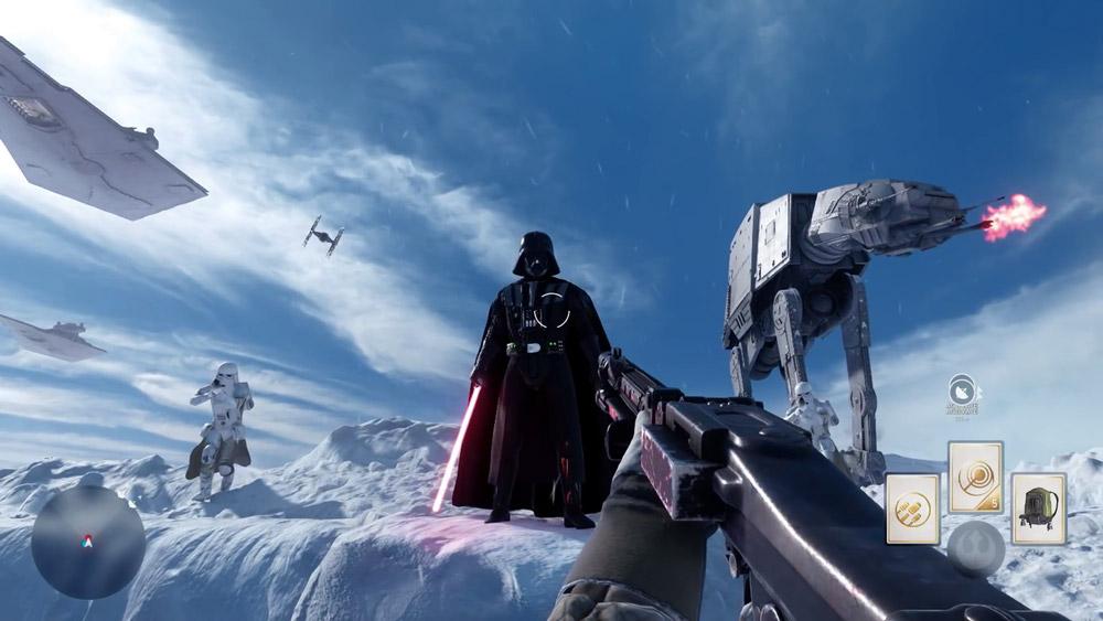 Känslan när man stöter på Darth Vader. DEN känslan...