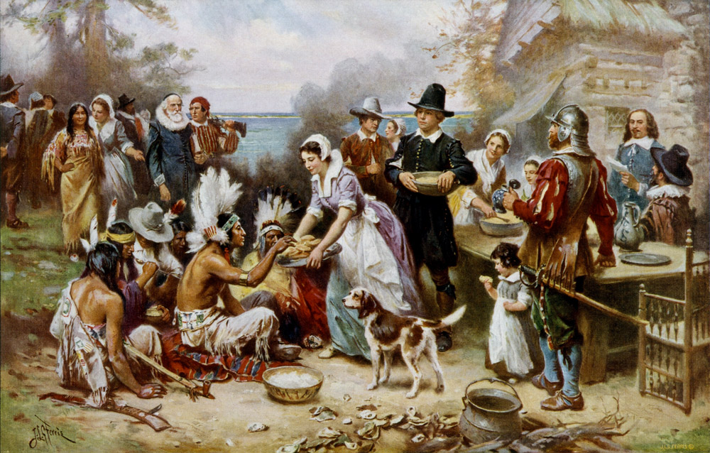 """""""The first Thanksgiving"""""""