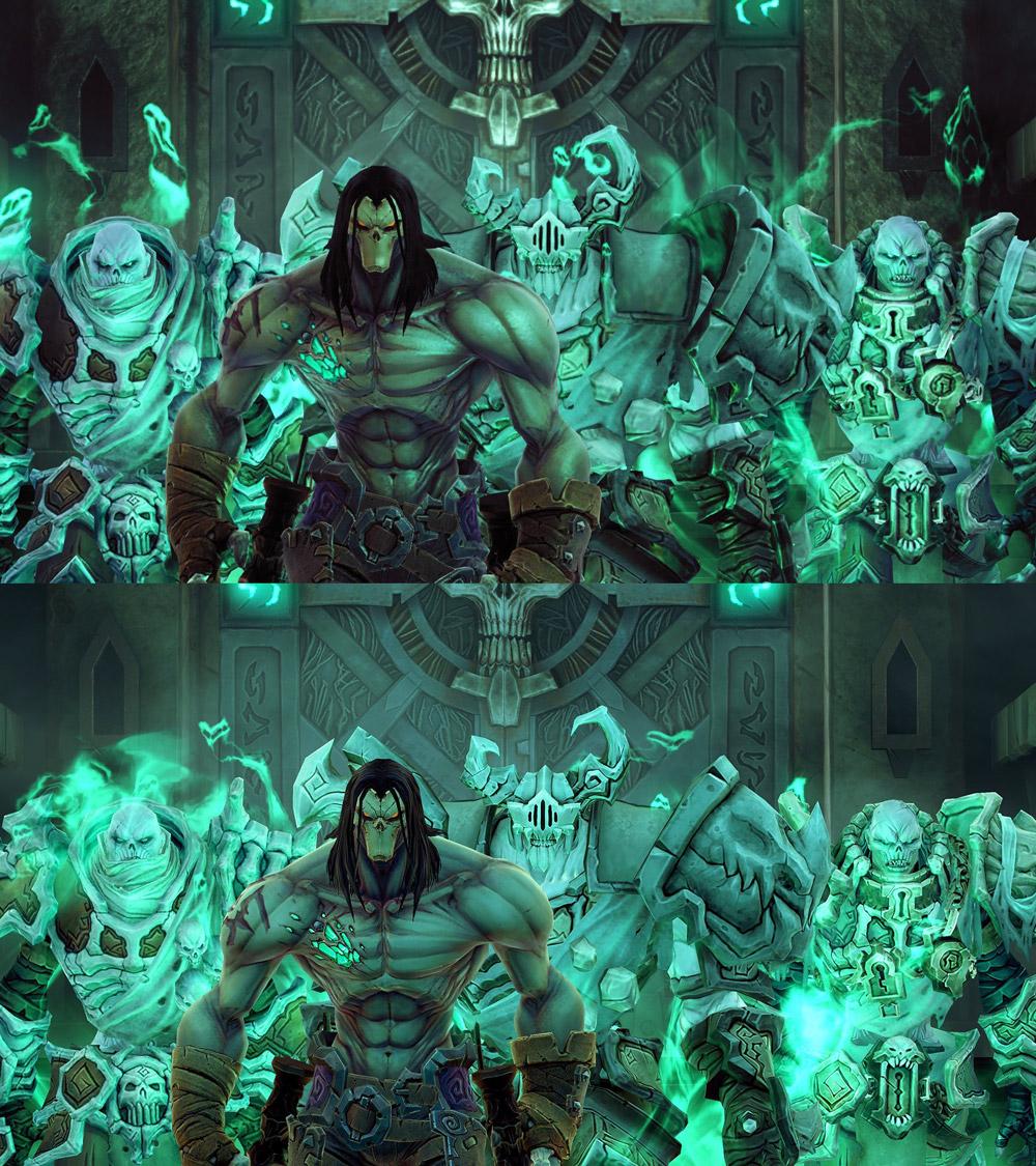 Originalet mot remaken. Skillnaden ligger i detaljer och ljuset (klicka för större version)