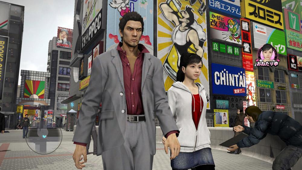 Yakuza 5 är ett av PS3:ans snyggaste spel