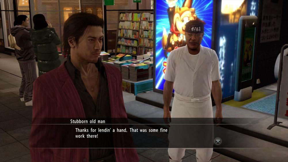 Yakuza 5 innehåller gott om dialog och en hel del arketyper