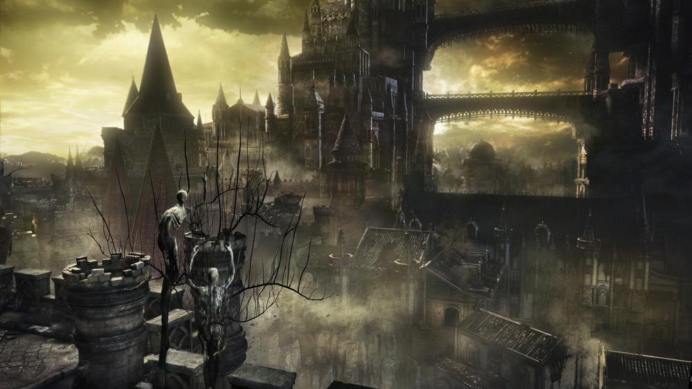 Dark Souls III är seriens klart snyggaste del.