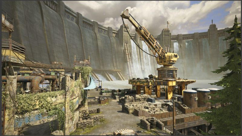 Gears of War 4 beta Dam