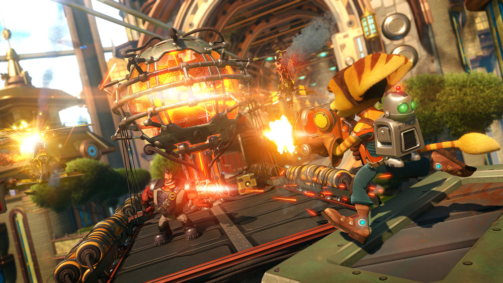 Ratchet-clank-train