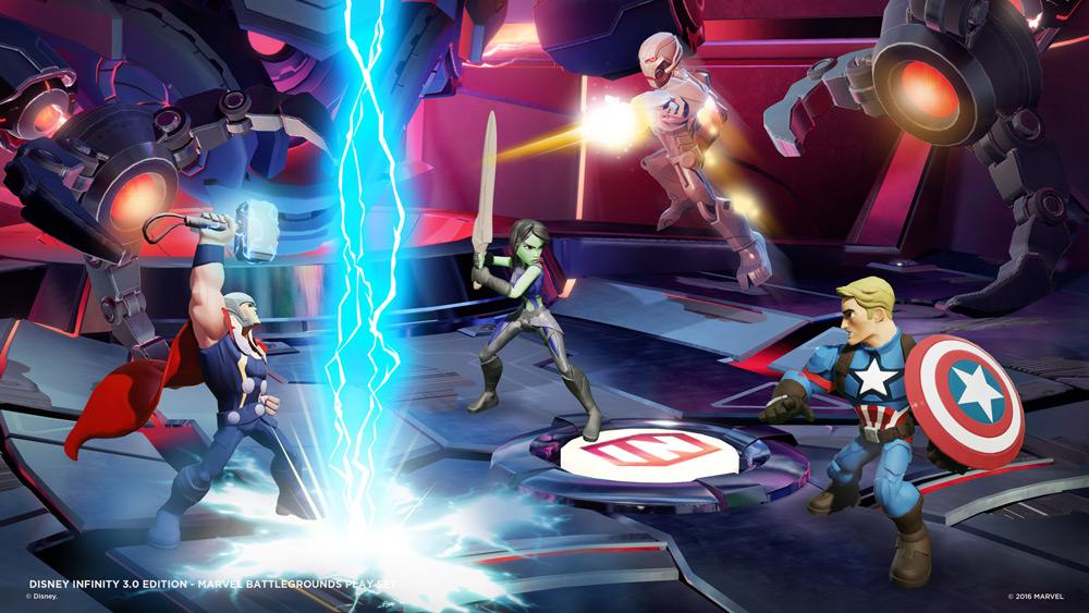 Marvel Battlegrounds är allra roligast om man är fyra spelare
