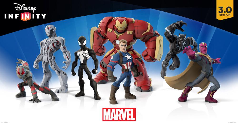 De nya Infinity-figurerna som släpps i samban med Marvel Battleground
